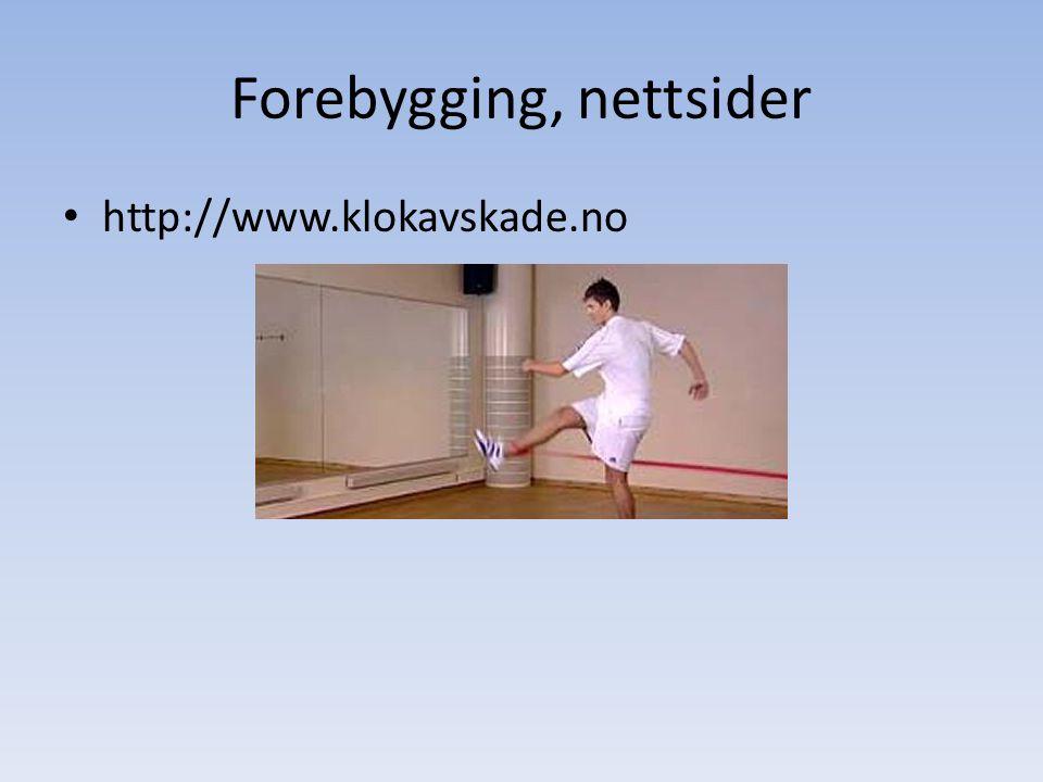 Forebygging, nettsider