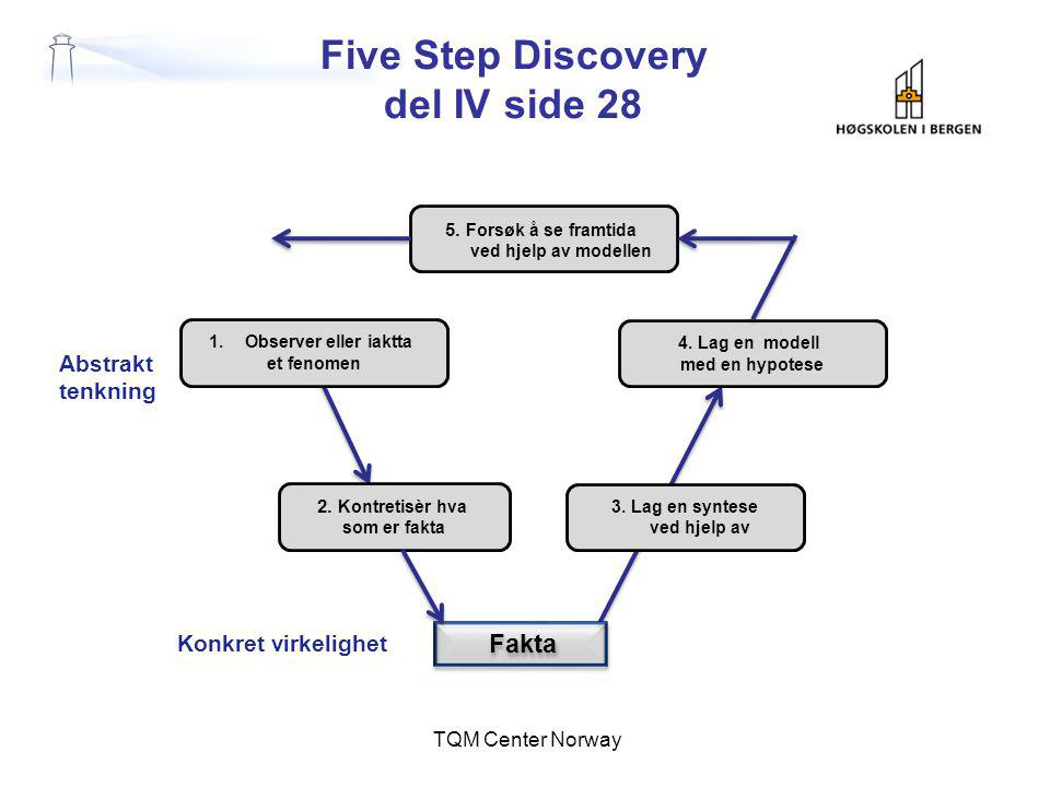 Five Step Discovery del IV side 28