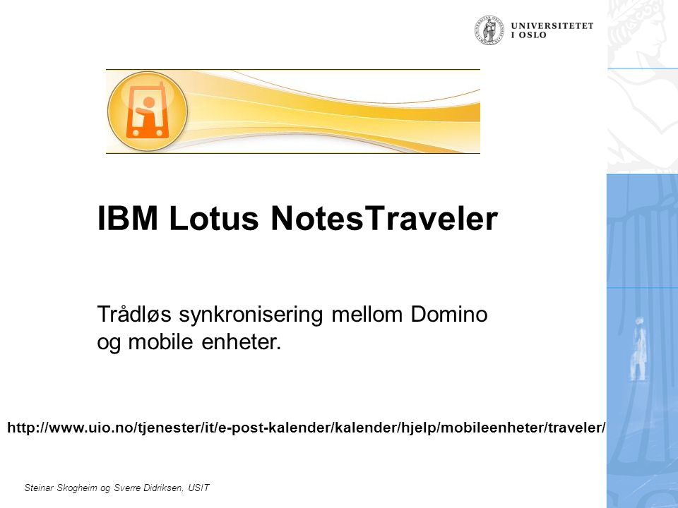 IBM Lotus NotesTraveler