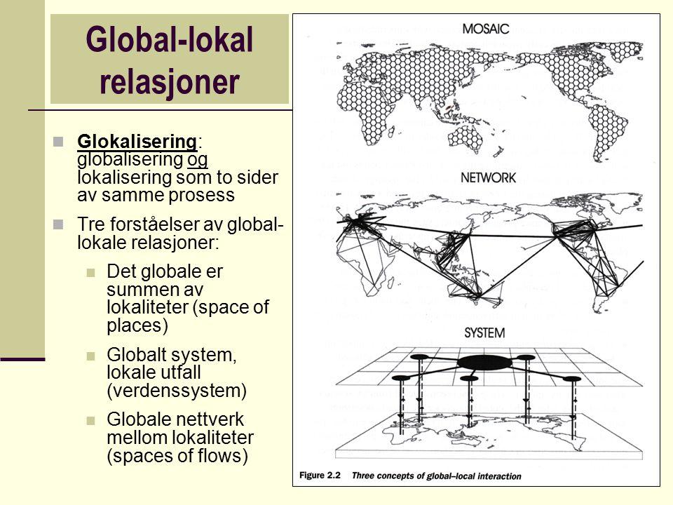 Global-lokal relasjoner