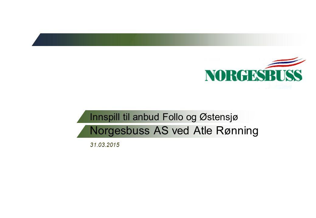 Innspill til anbud Follo og Østensjø