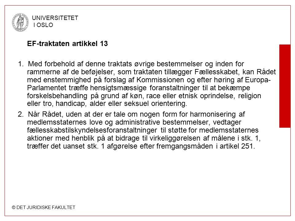 EF-traktaten artikkel 13