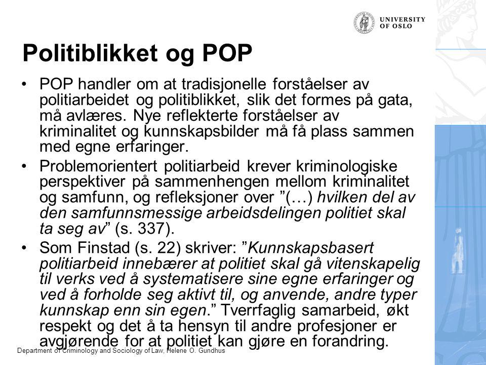 Politiblikket og POP