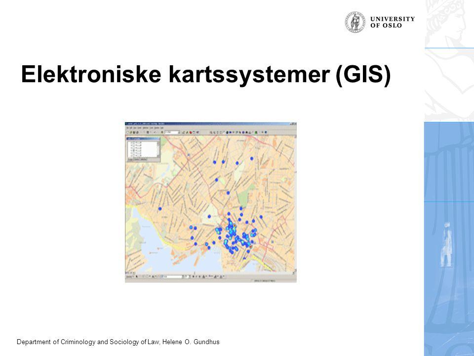 Elektroniske kartssystemer (GIS)