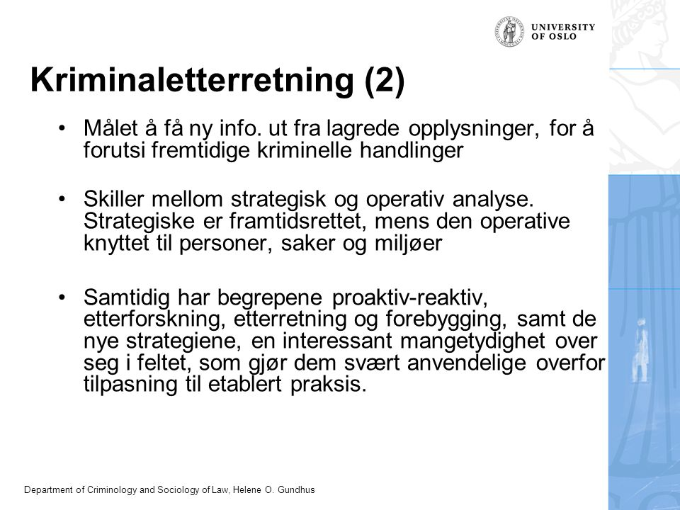 Kriminaletterretning (2)