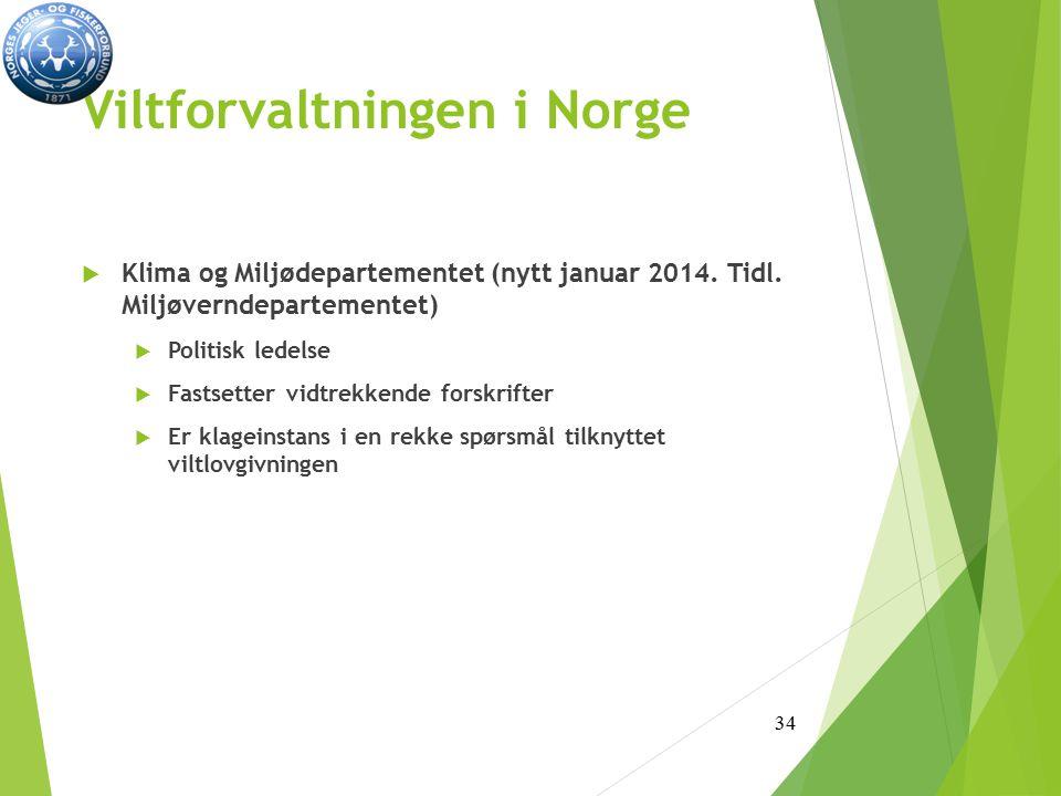 Viltforvaltningen i Norge
