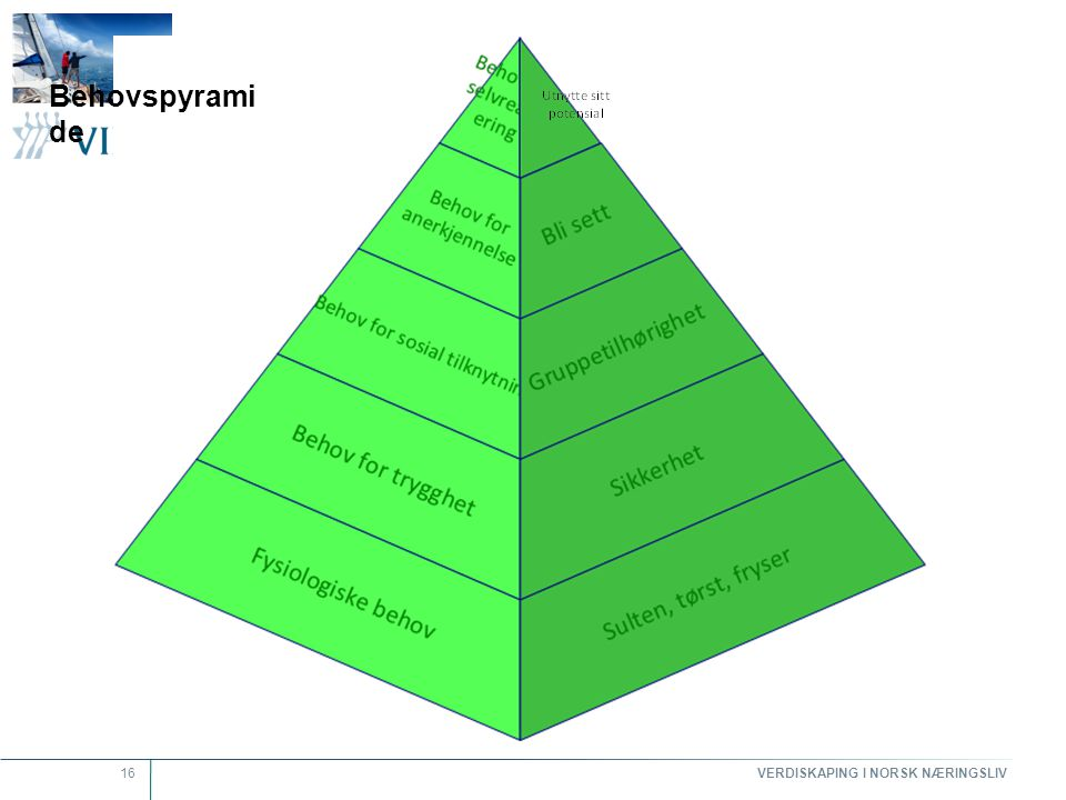 Behovspyramide