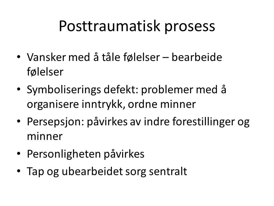 Posttraumatisk prosess