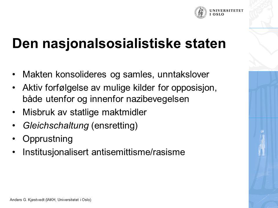 Den nasjonalsosialistiske staten