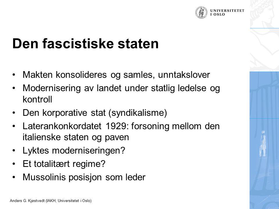 Den fascistiske staten