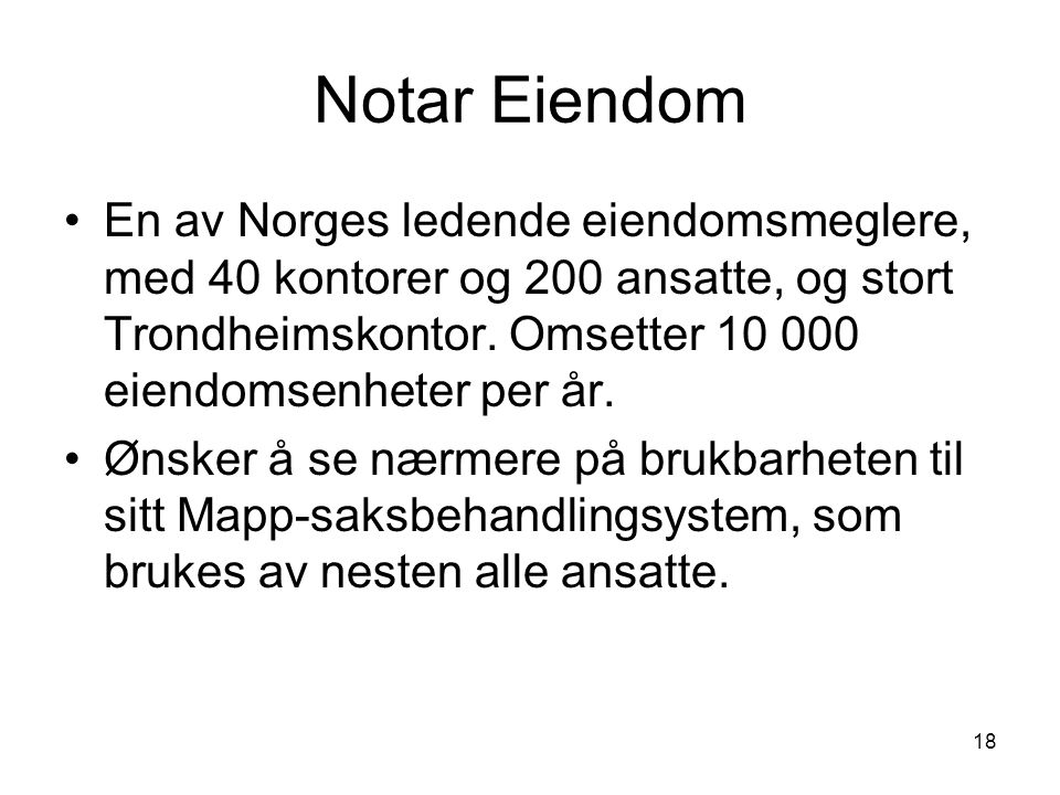 Notar Eiendom
