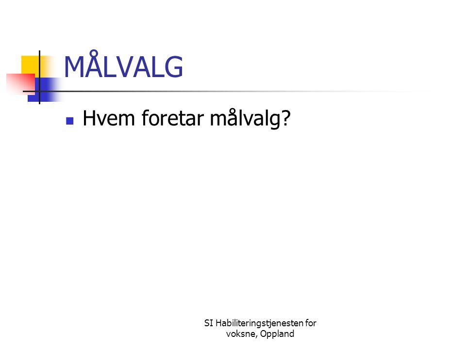 SI Habiliteringstjenesten for voksne, Oppland