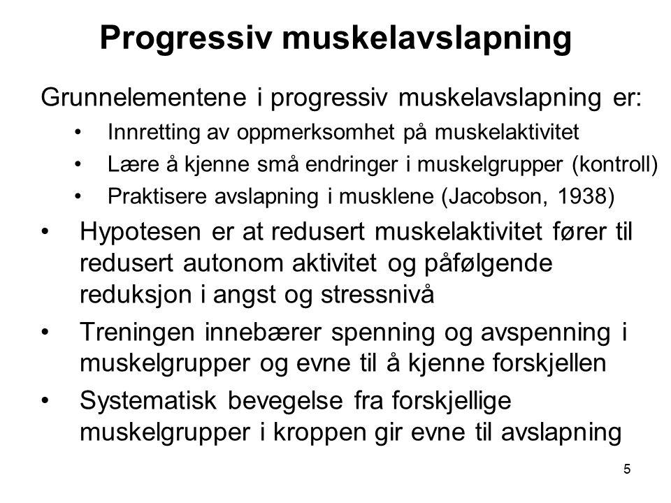 Progressiv muskelavslapning