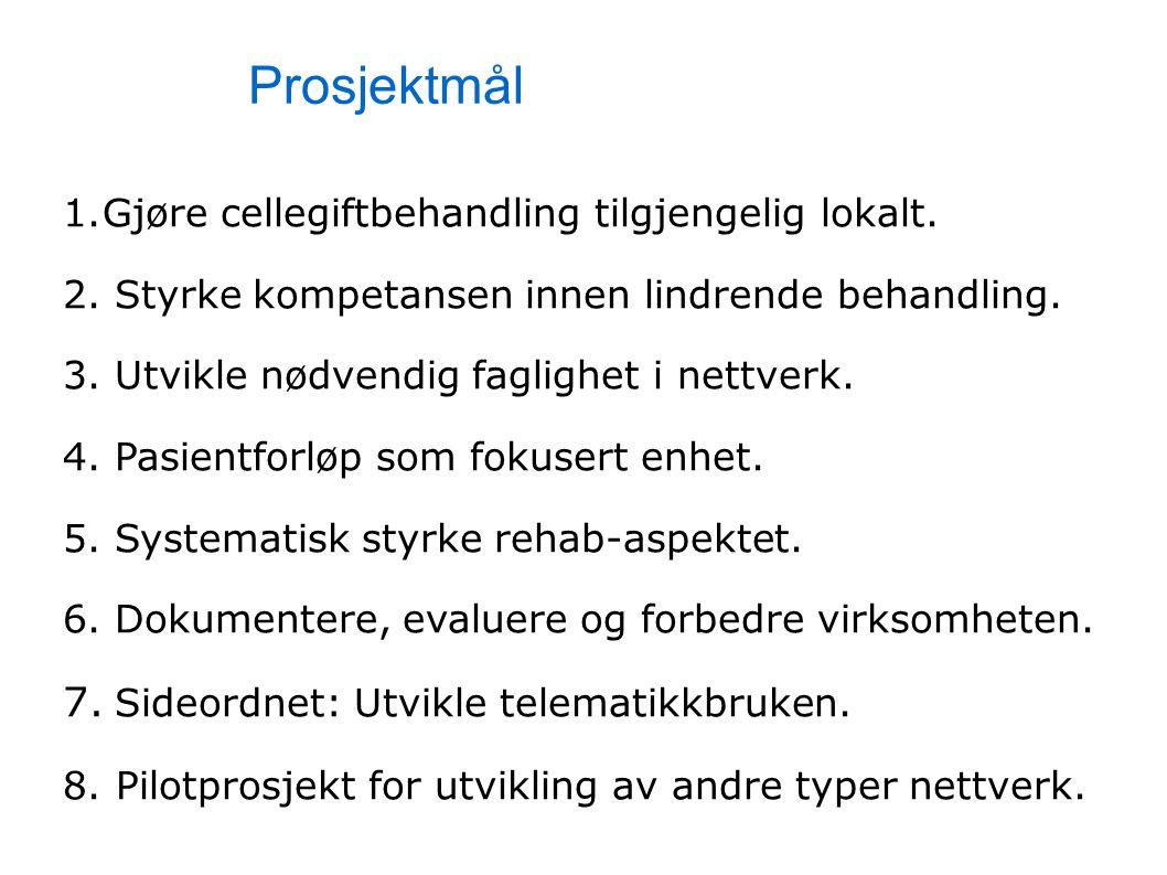 Prosjektmål 7. Sideordnet: Utvikle telematikkbruken.