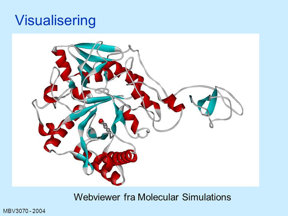 Webviewer fra Molecular Simulations