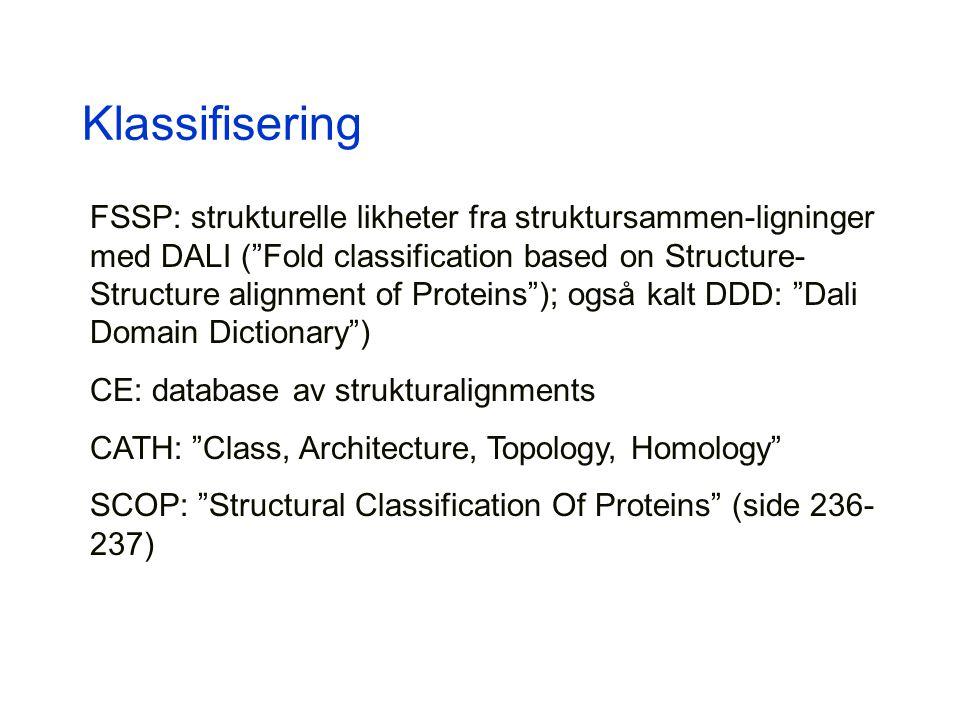 Klassifisering