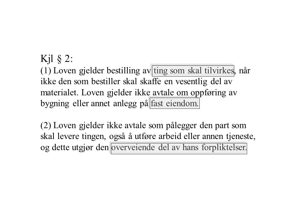 Kjl § 2: