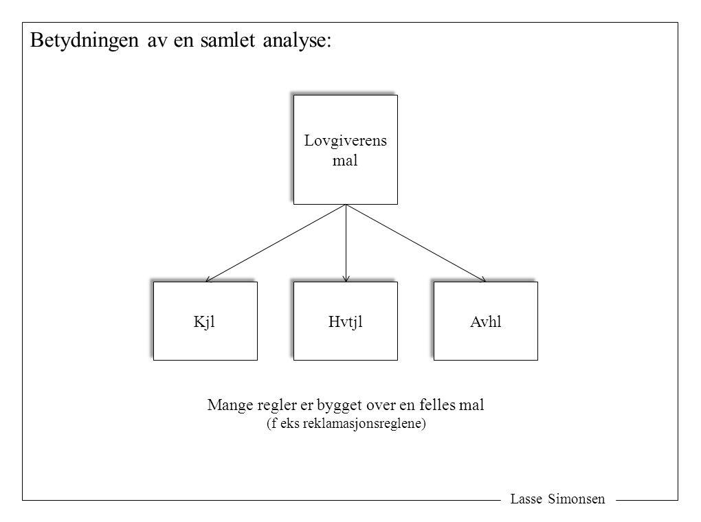 Betydningen av en samlet analyse: