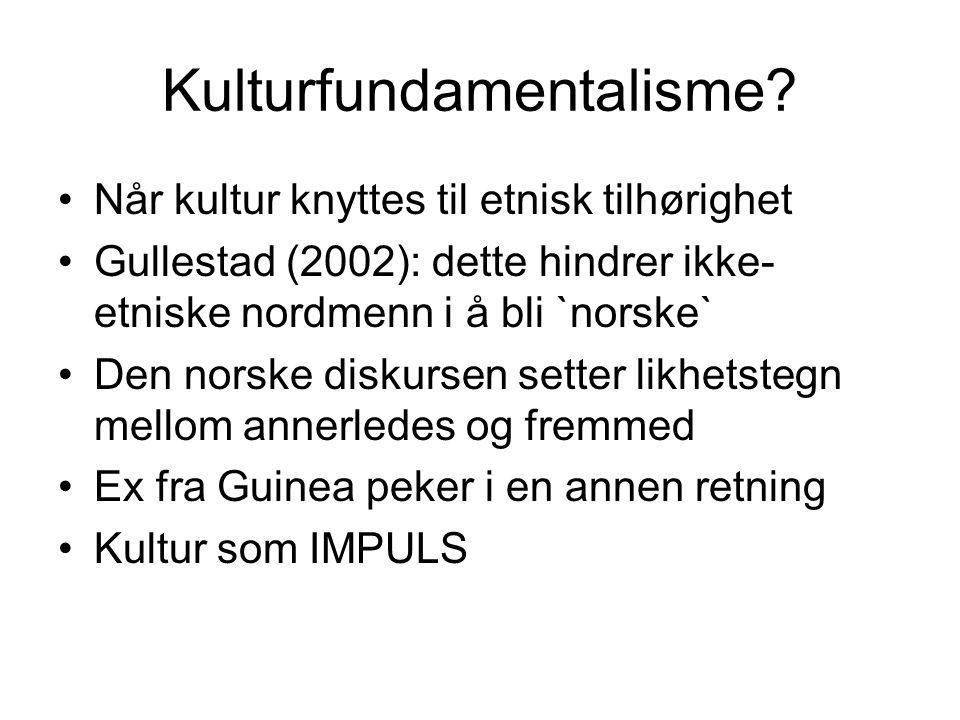 Kulturfundamentalisme