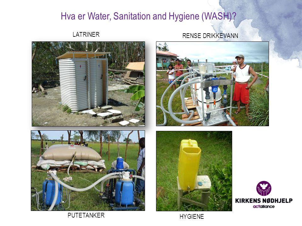 Hva er Water, Sanitation and Hygiene (WASH)