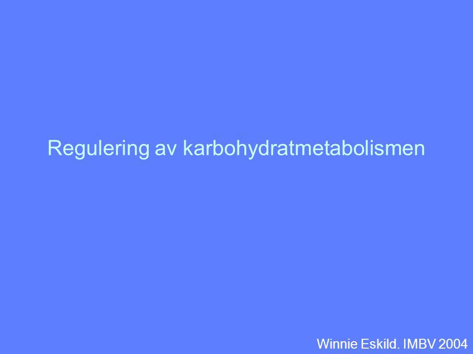 Regulering av karbohydratmetabolismen