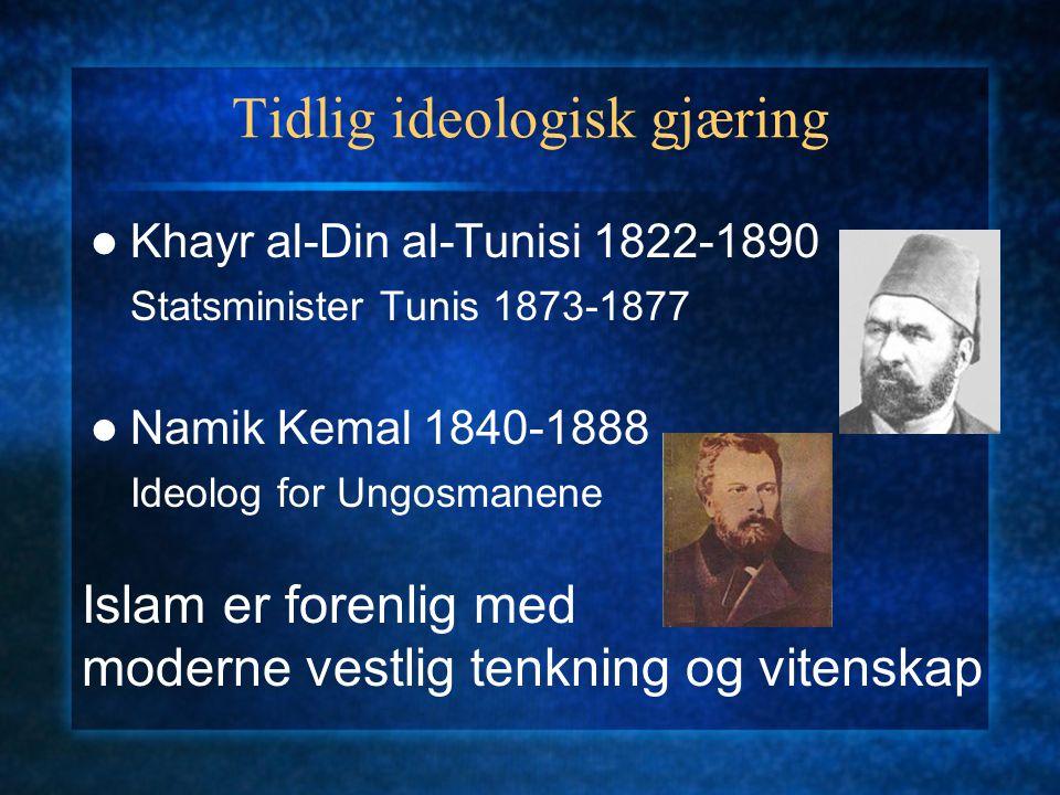 Tidlig ideologisk gjæring