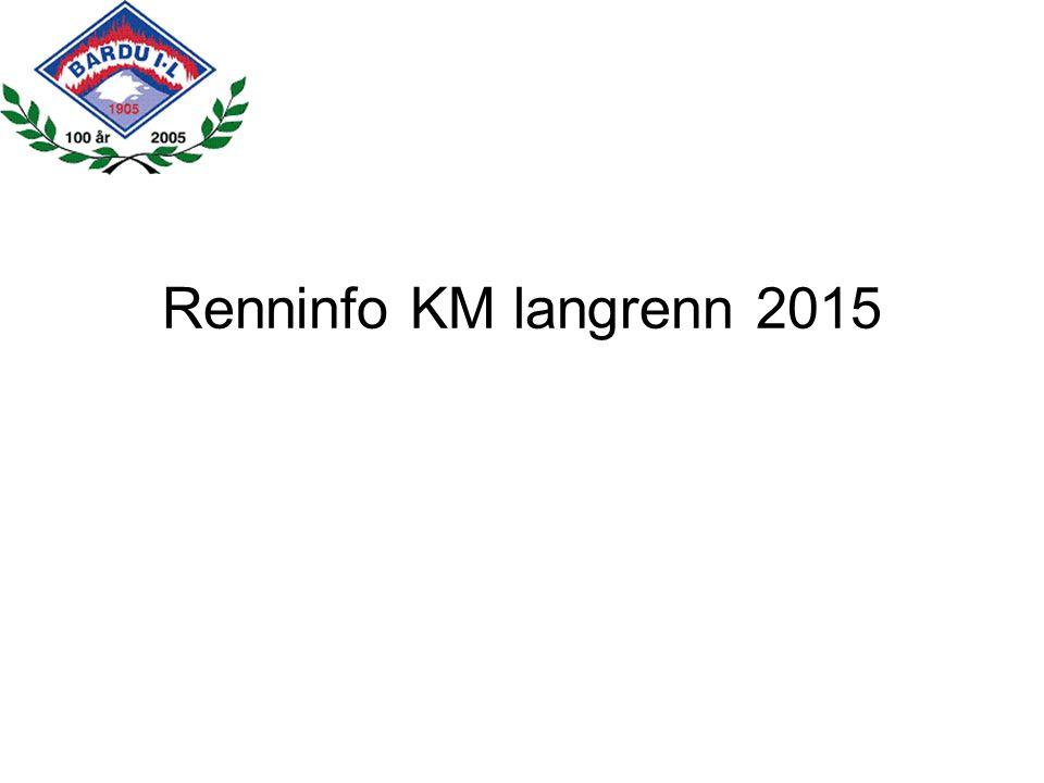 Renninfo KM langrenn 2015