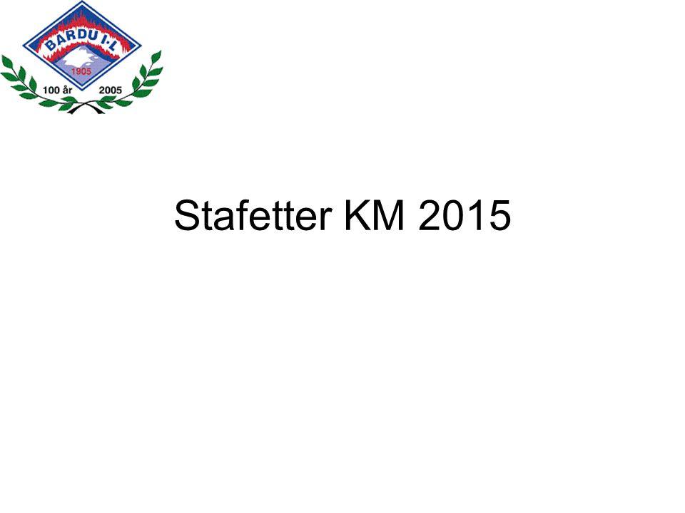 Stafetter KM 2015
