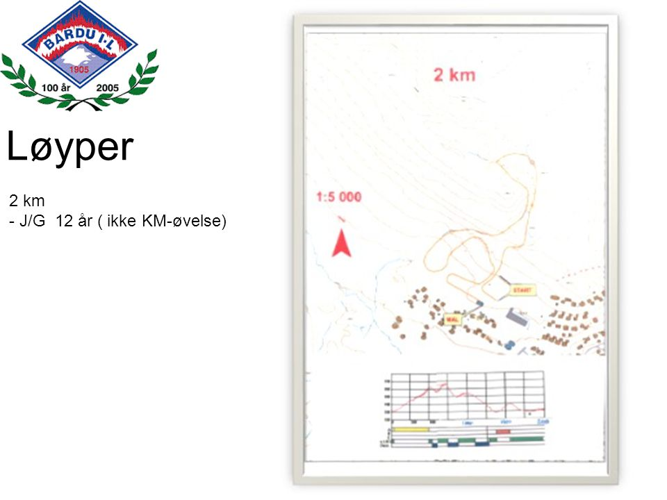 Løyper 2 km - J/G 12 år ( ikke KM-øvelse)