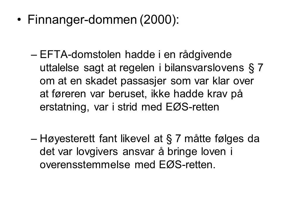 Finnanger-dommen (2000):