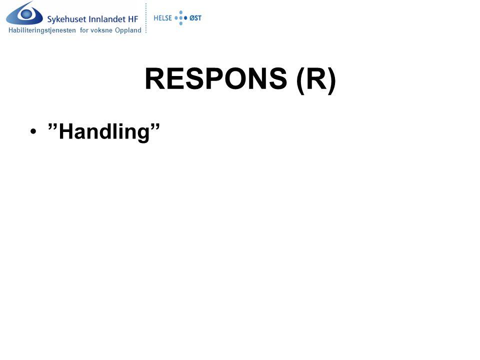 RESPONS (R) Handling