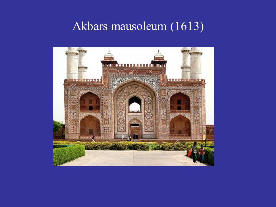 Akbars mausoleum (1613)