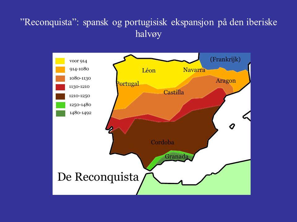 Reconquista : spansk og portugisisk ekspansjon på den iberiske halvøy