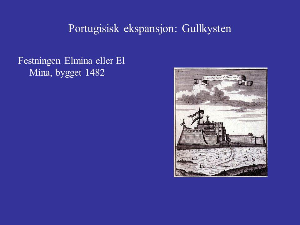 Portugisisk ekspansjon: Gullkysten