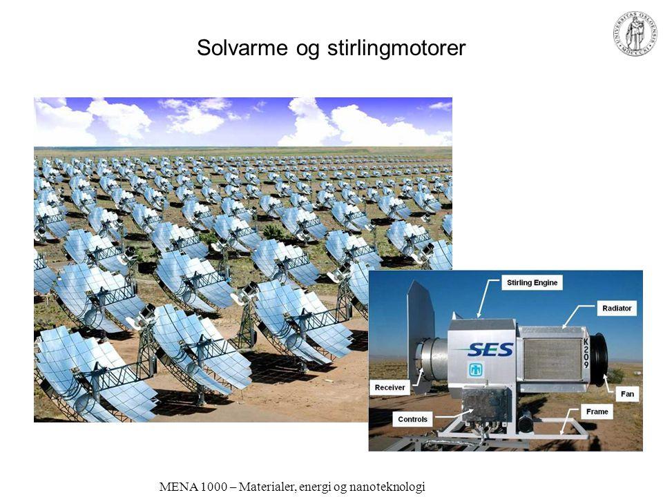 Solvarme og stirlingmotorer