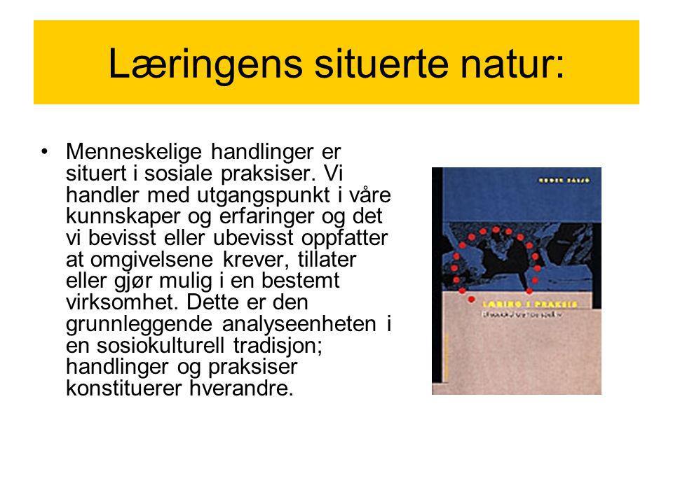 Læringens situerte natur: