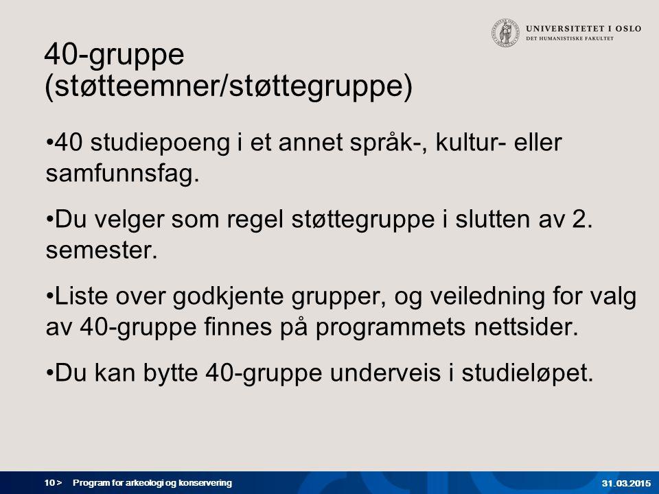 40-gruppe (støtteemner/støttegruppe)
