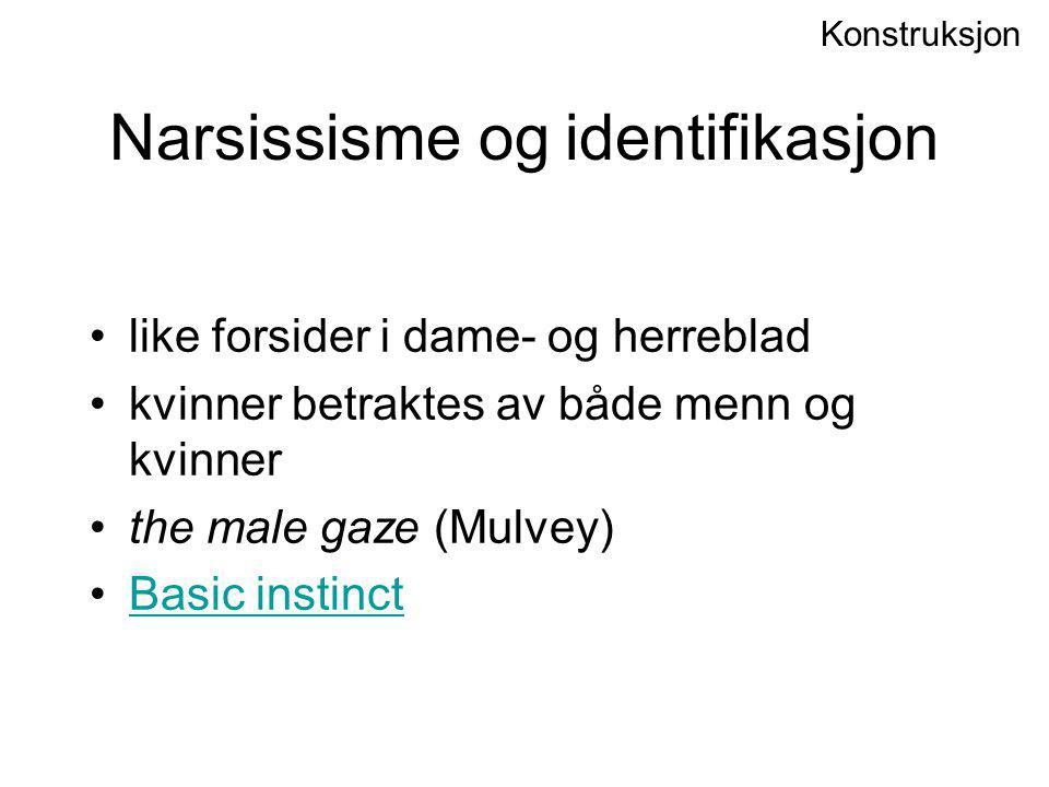 Narsissisme og identifikasjon