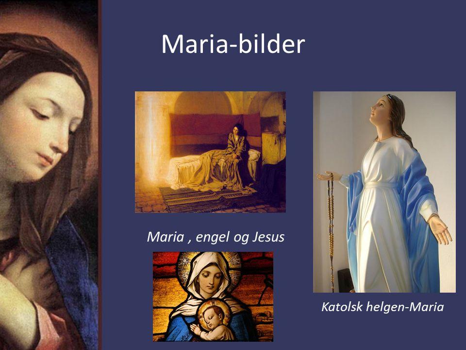 Maria-bilder Maria , engel og Jesus Katolsk helgen-Maria