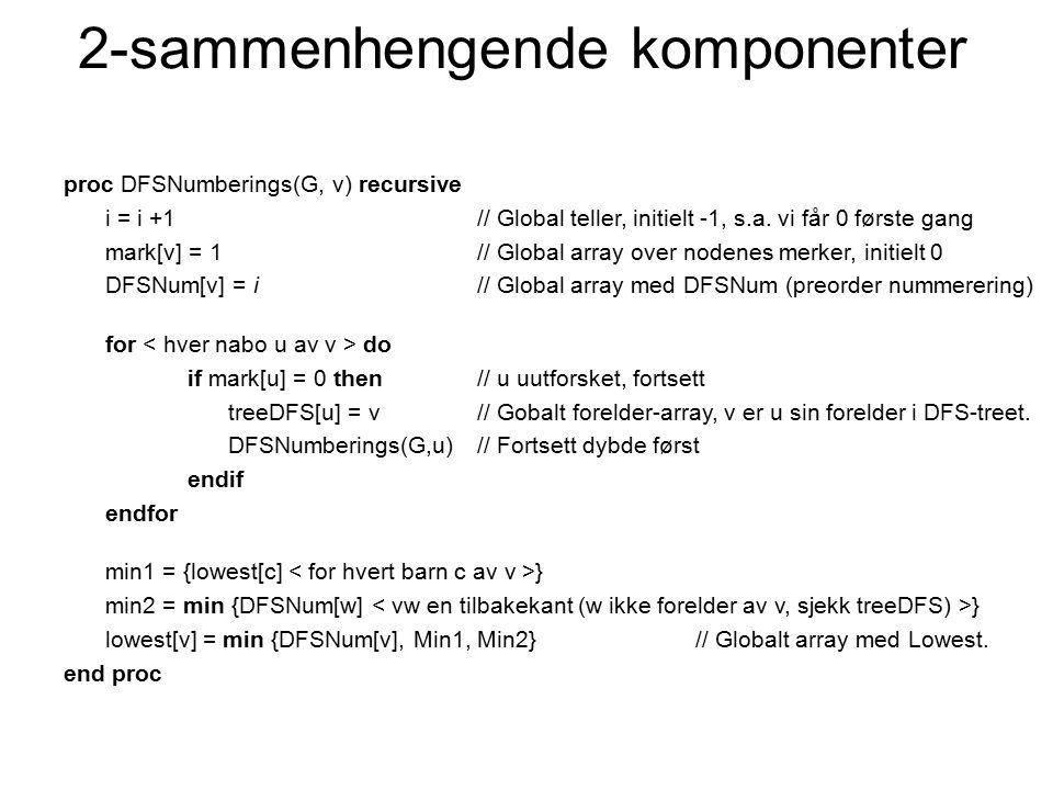2-sammenhengende komponenter