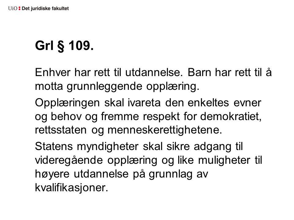 Grl § 109.
