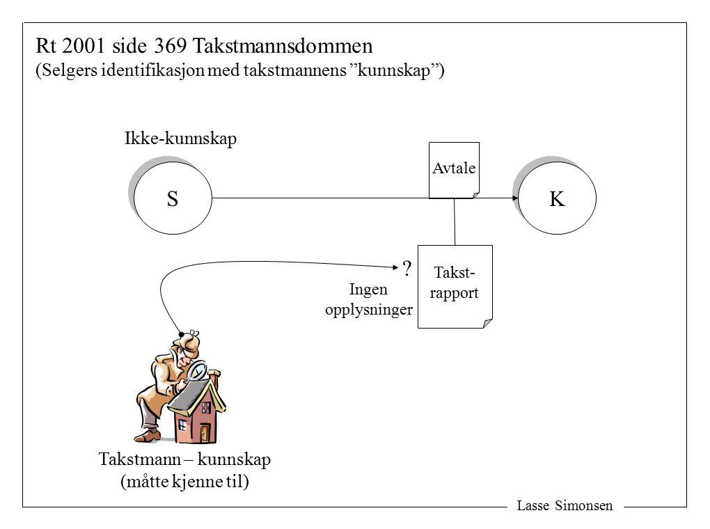 Takstmann – kunnskap (måtte kjenne til)