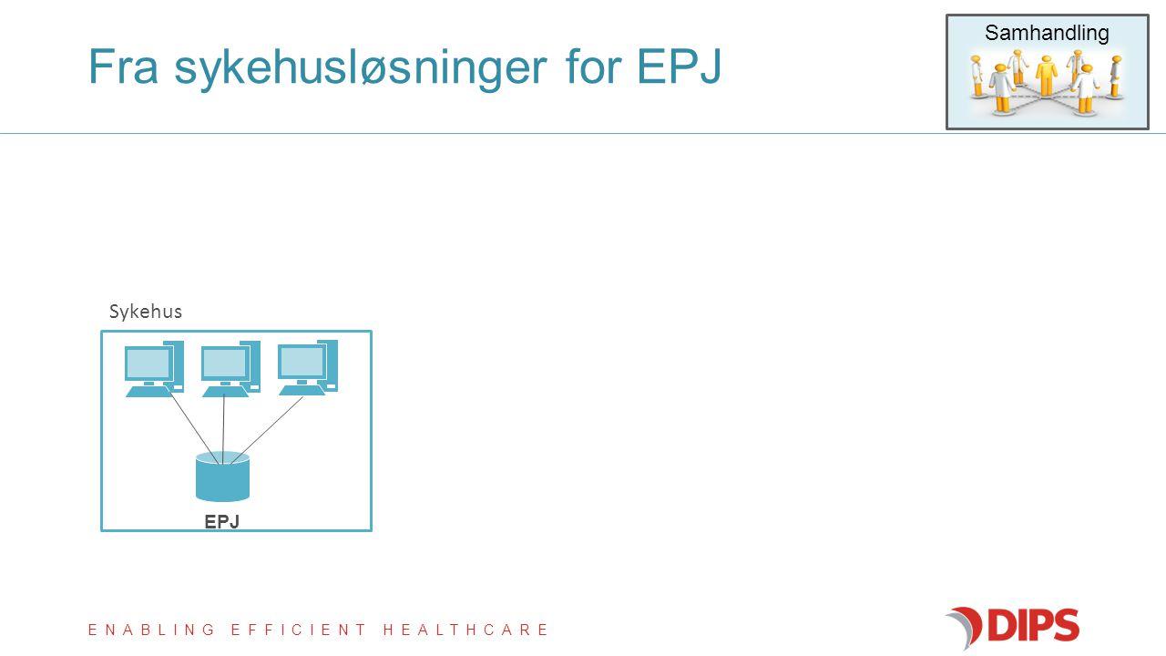 Fra sykehusløsninger for EPJ