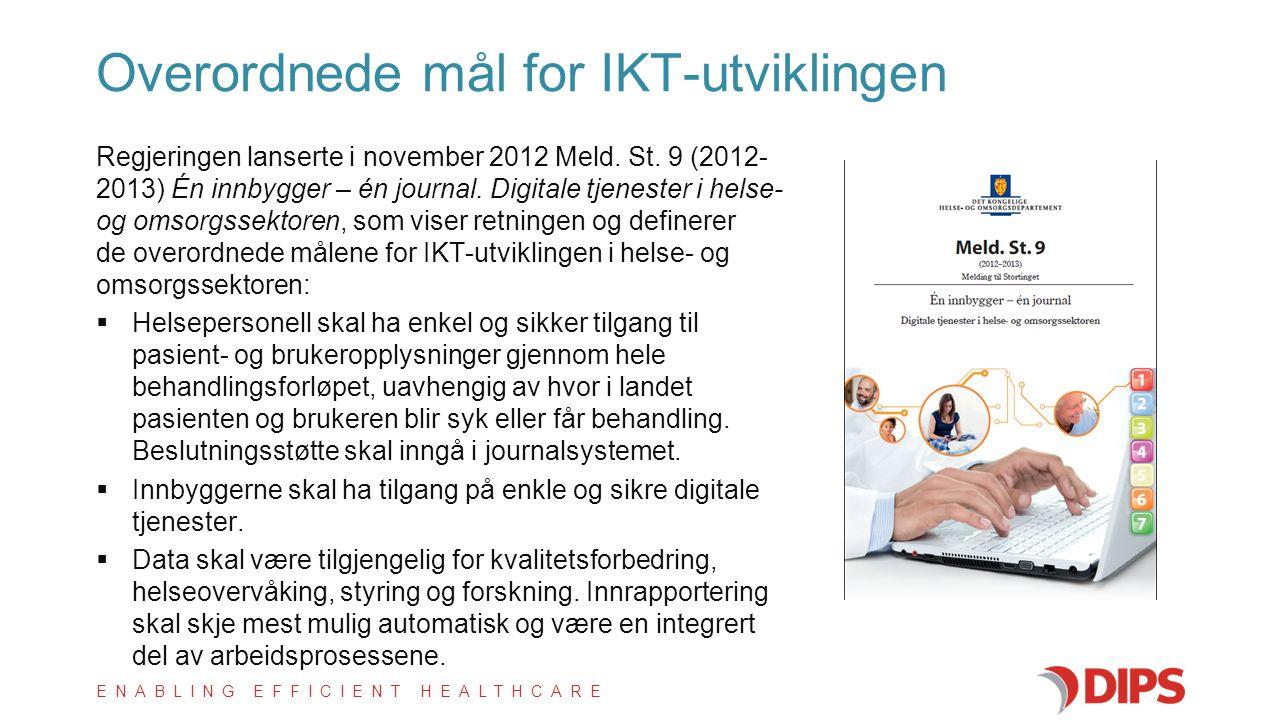 Overordnede mål for IKT-utviklingen