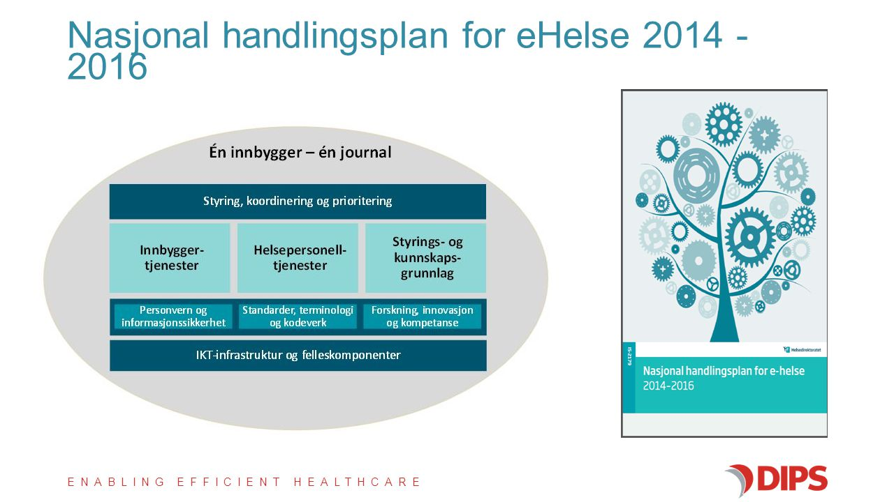 Nasjonal handlingsplan for eHelse 2014 - 2016