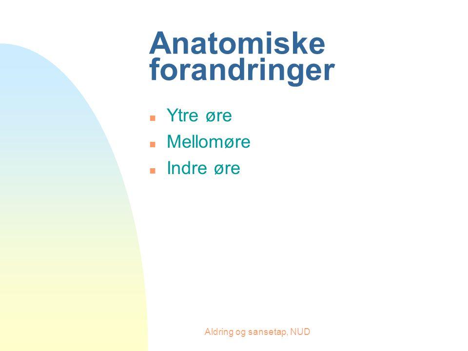 Anatomiske forandringer