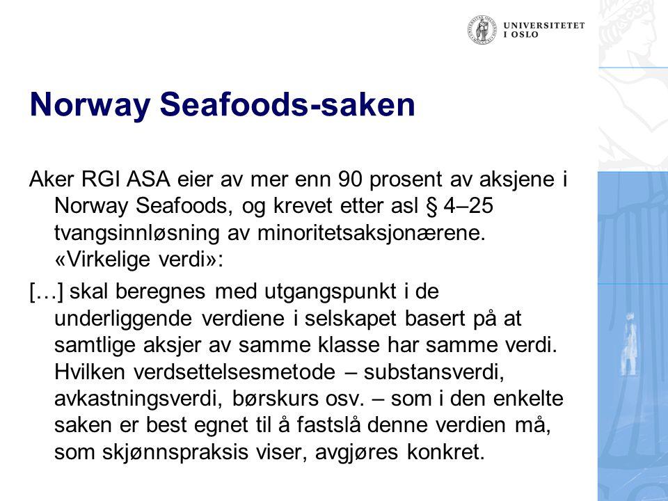Norway Seafoods-saken