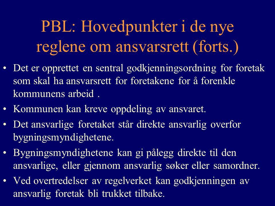 PBL: Hovedpunkter i de nye reglene om ansvarsrett (forts.)