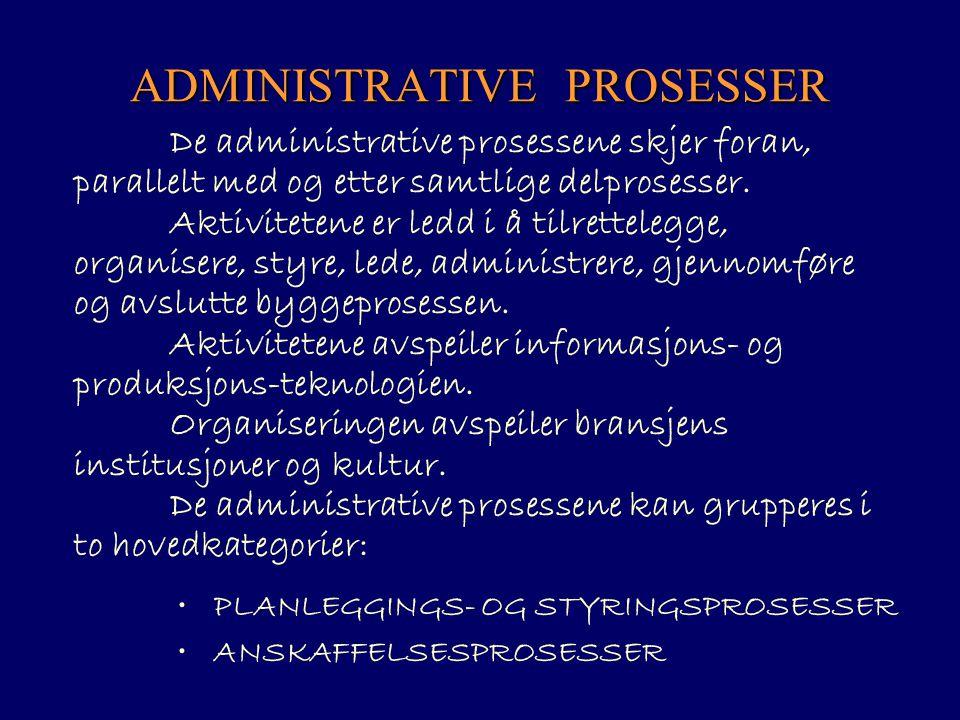 ADMINISTRATIVE PROSESSER