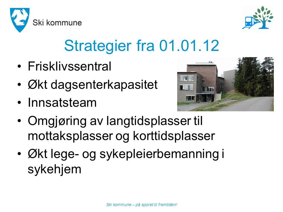 Strategier fra 01.01.12 Frisklivssentral Økt dagsenterkapasitet
